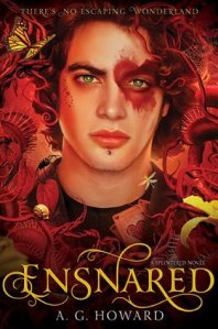 Cover of Ensnared by A.G .Howard